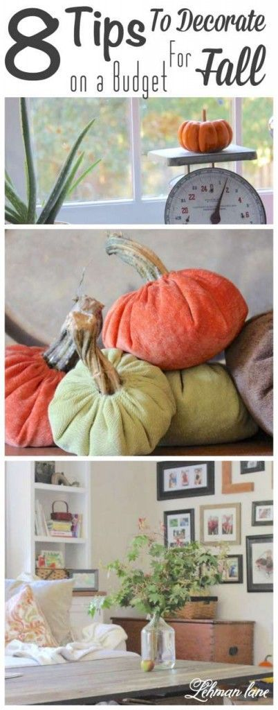 8 Tips for Fall Decorating on a Budget Decorating