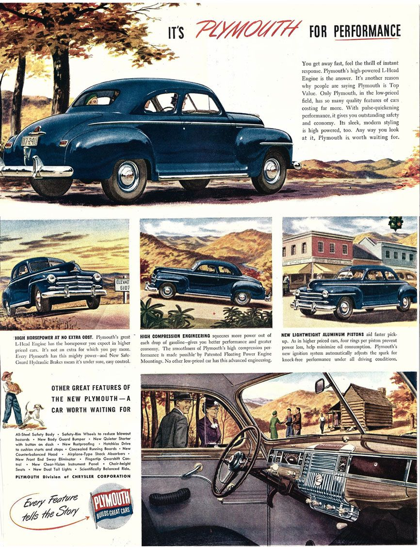 1946 Plymouth Special Deluxe Coupe | Vintage, Retro | Pinterest ...