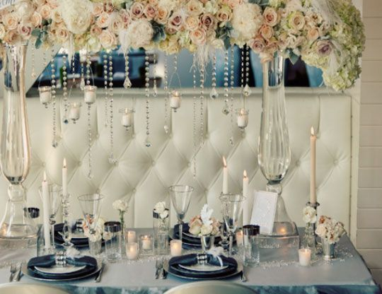 Winter Wedding Ideas - Elegant Table Setting - Click pic for 25 ...