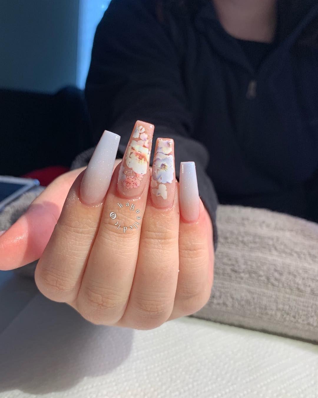 Cherry Blossom Nails Cherry Blossom Nails Cherry Blossom Nails Art Swag Nails