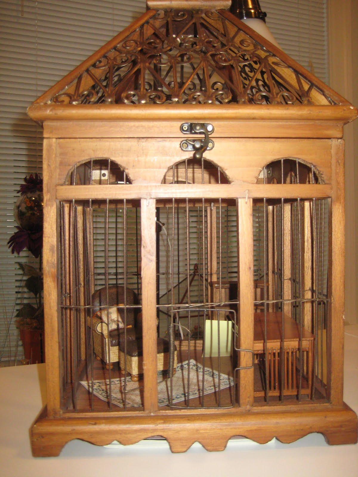 DIY Bird Cage Plans | Diy bird cage, Wooden bird, Bird cage