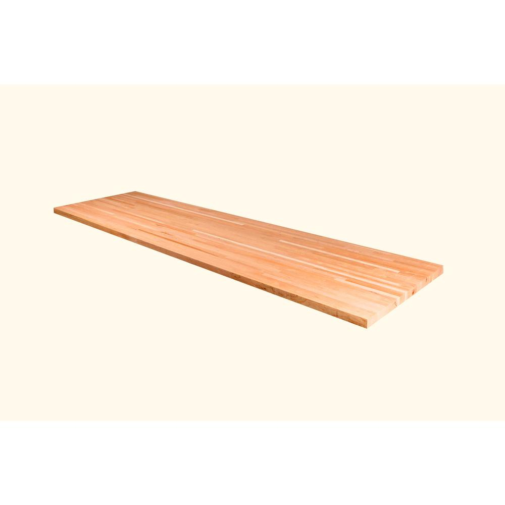 American Hardwood Industries 4 Ft L X 2 Ft 1 In D X 1 5 In T
