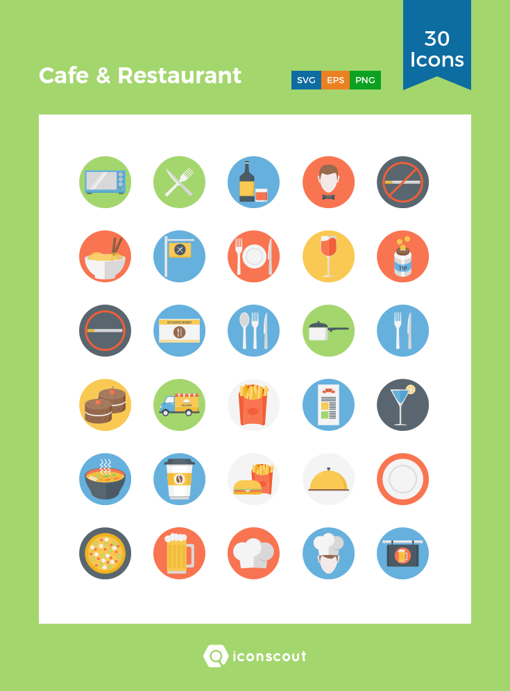 Download Cafe Restaurant Icon Pack Available In Svg Png Eps Ai Icon Fonts Restaurant Icon Cafe Restaurant Icon Pack