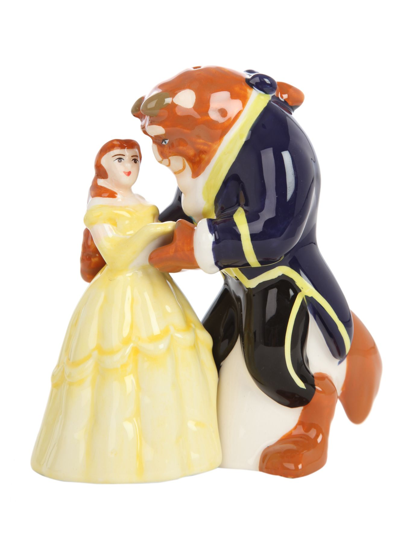 Disney Beauty And The Beast Salt & Pepper Shakers | Hot Topic someone please get these for me when I get married someday