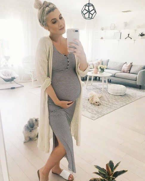 3366fd424 52 Brilliant Maternity Outfit Ideas For Summer