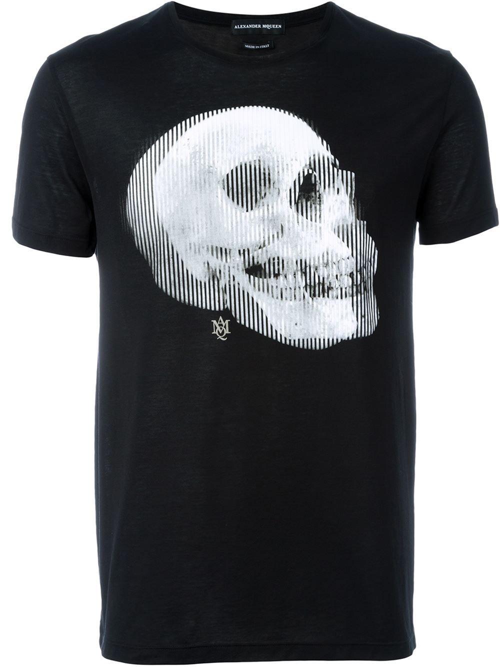 Alexander McQueen Camiseta com estampa  ab20abd8a64