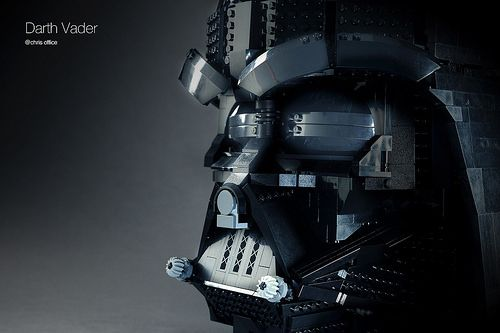 Stunning LEGO Darth Vader mask cleverly hides scenes from Star Wars