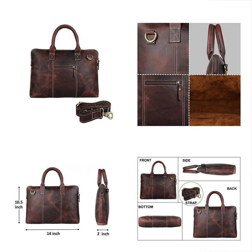 414a68a34c6e Leather Messenger Bags Laptop Shoulder For Men   Women By Rustic Town   fashion  clothing