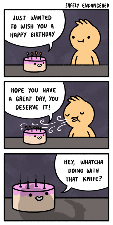 Birthdays Are Not For The Weak