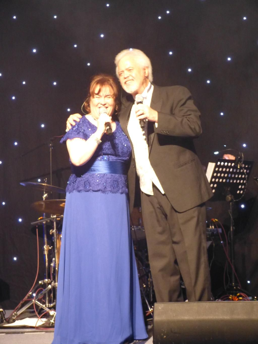 The lovely @SusanBoyleHQ and @merrillosmond @hearing_fundUK Gala evening.