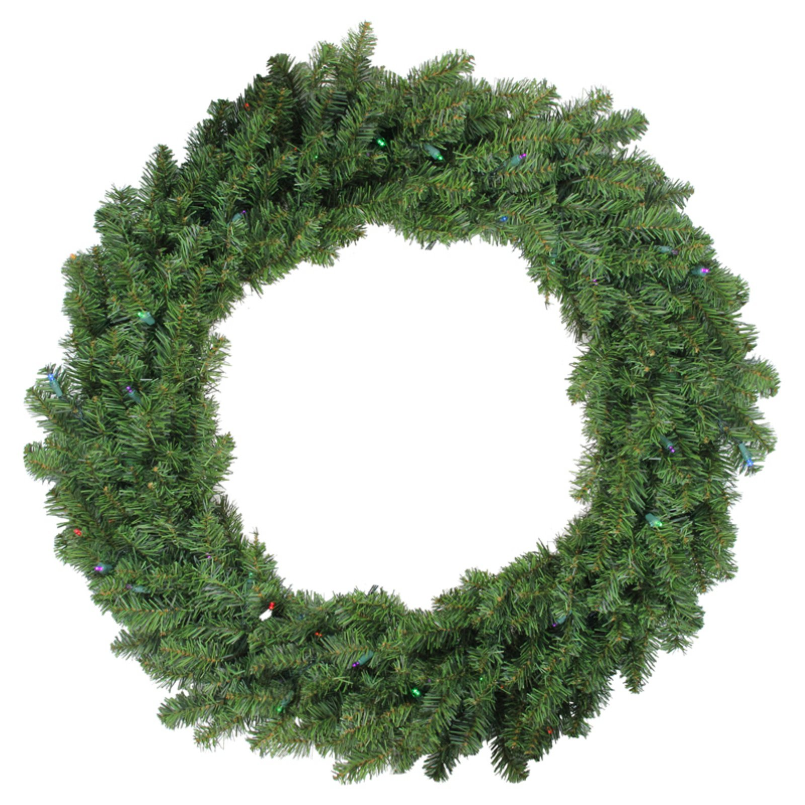 Northlight 36 In Pre Lit Battery Operated Led Canadian Pine Christmas Wreath Artificial Christmas Wreaths Christmas Wreaths Spring Flower Wreath