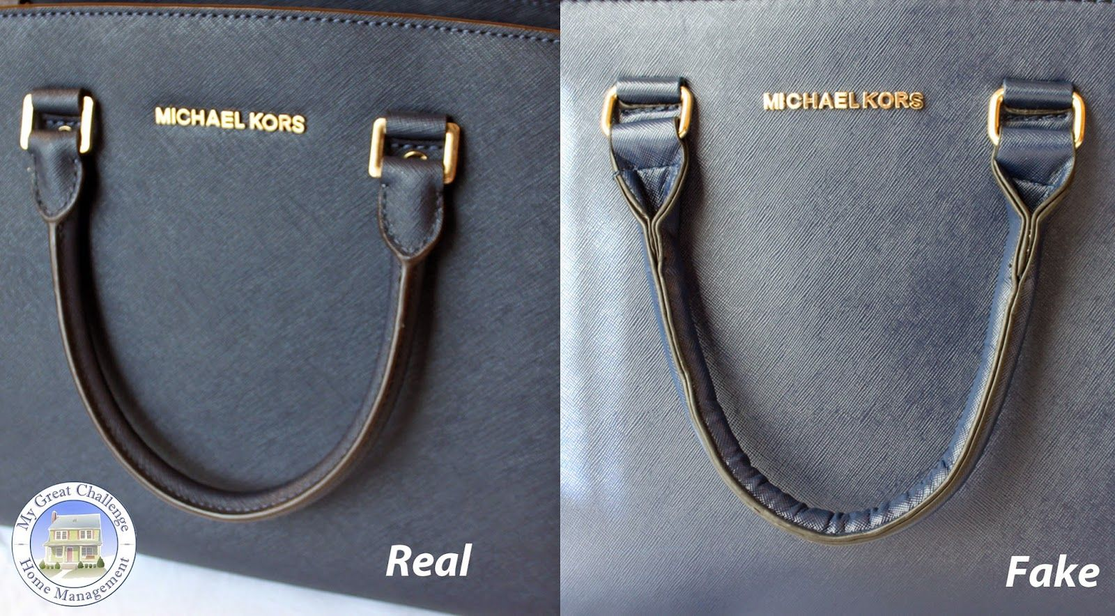 adfbc65a6ae5 Michael Kors Selma - Fake VS. Real Comparison | Michael kors ...