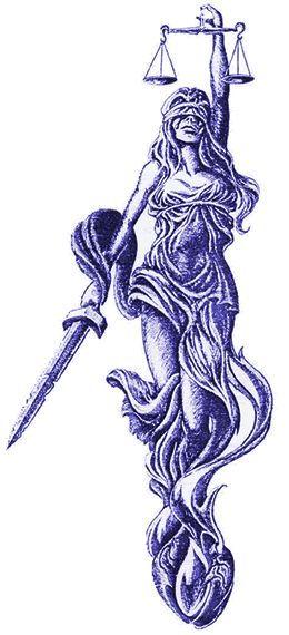 Pin By Karina On Libra Justice Tattoo Lady