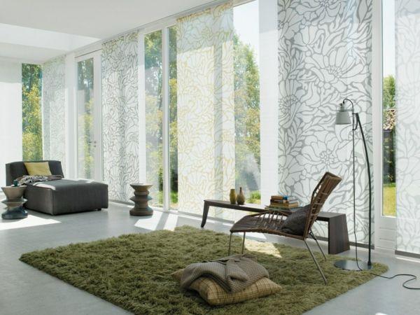 le panneau japonais heytens dans la d coration contemporain dream home window treatments. Black Bedroom Furniture Sets. Home Design Ideas