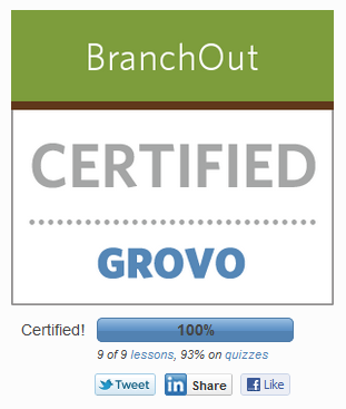 get BranchOIut certificated! Fun, useful, truly huge!