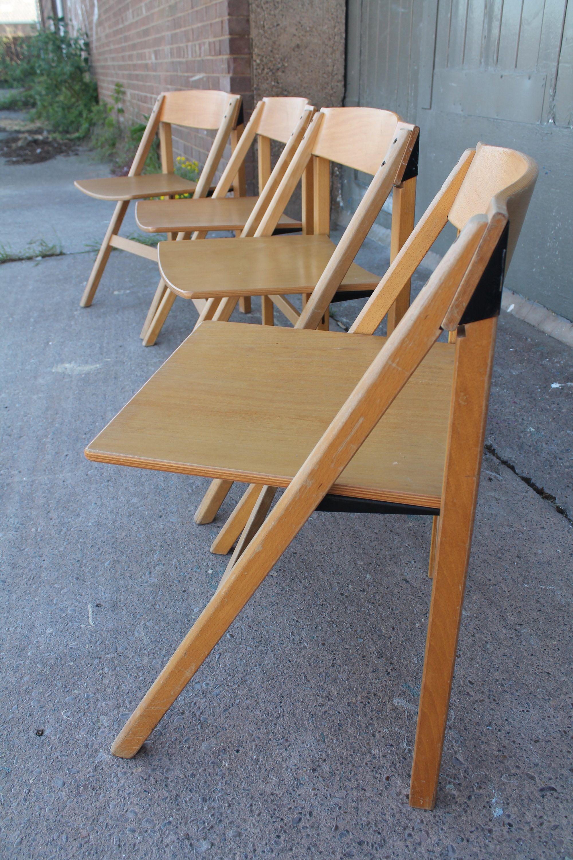 1970 S Danish Folding Chair By Holstebro Mobelfabrik Folding Chair Chair Rustic House