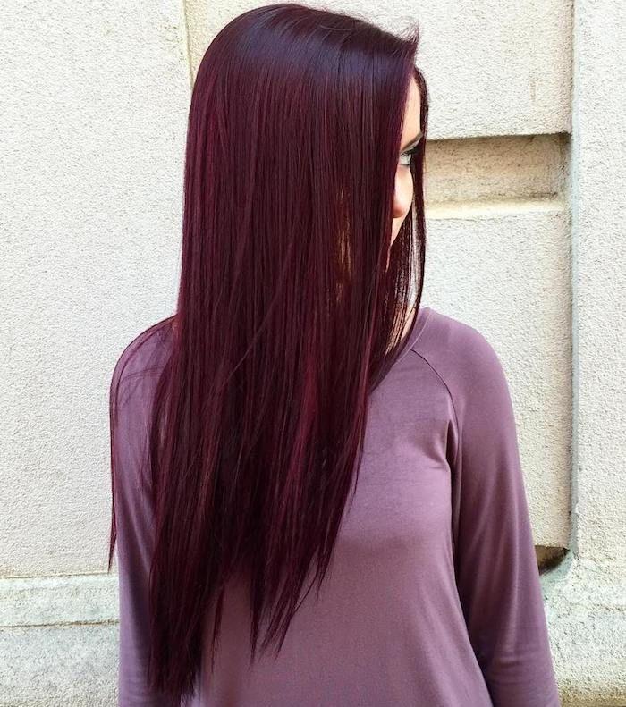 Bien connu ▷ 1001 + visions splendides avec des cheveux bordeaux | Couleur  KT59