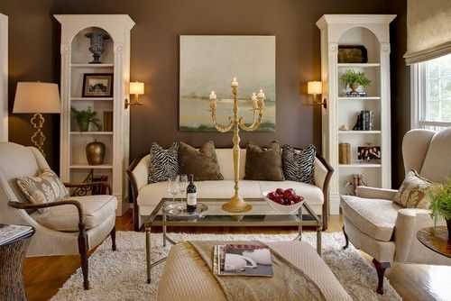 Traditional Living Photos Small Den Design Pictures Remodel Decor And Ideas Page 9 Family Room Paint Colors Family Room Paint Living Room Designs
