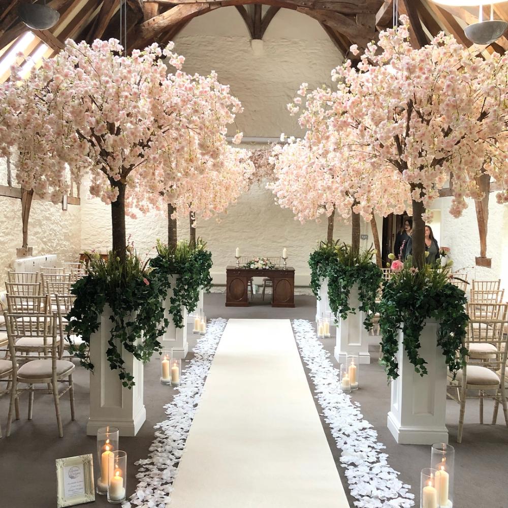 Cherry Blossoms Silk Blossom Tree Wedding Cherry Blossom Wedding Cherry Blossom Wedding Theme