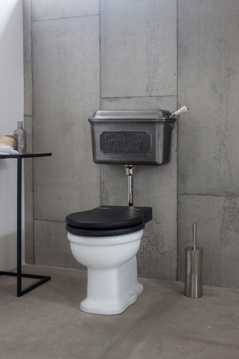 Cast Metal Low Level Cistern Ensemble | Bathroom design ...