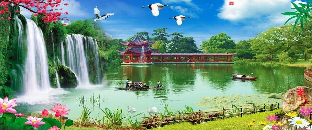 Landscape Paintings Landscape Paintings Photoshop Backgrounds Love Background Images