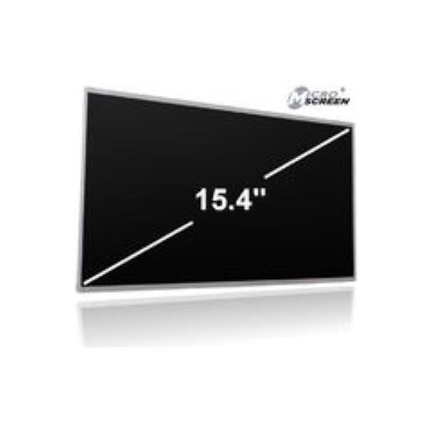 MicroScreen MSC30936. Capienza massima dimensioni dello schermo: 39,1 cm (15.4'') , Compatibilità: Packard Bell EasyNote ML61. Risoluzione massima: 1280 x 800 Pixels
