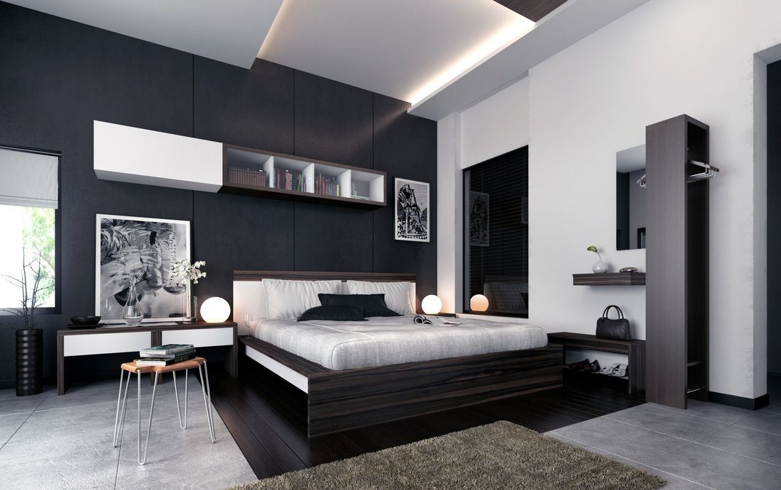 34 STYLISH MASCULINE BEDROOMS   Bedroom   Pinterest   Bedrooms  Room     WE have to stick to the basic decor while styling mens bedroom   IT must be  simple but at the same time elegant   stylish THE colour selected must be a  bit