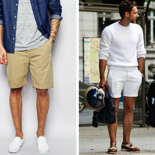 How Men Should Wear Shorts | Short men