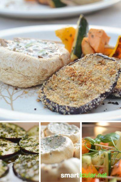 Vegan oder vegetarisch grillen? So einfach gehts! Leckere, gesunde Rezepte für den Grill.