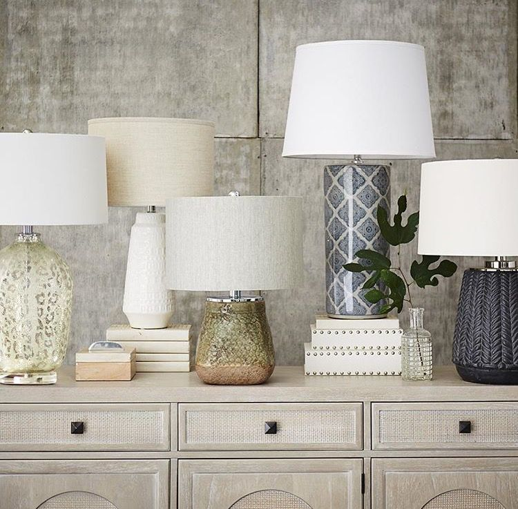 Namibia, Hera, Majia, Beckett, Brevyn All These Table Lamps From Havertys  Are