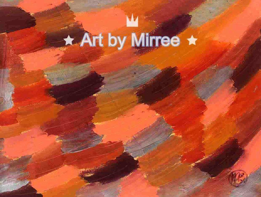 Sunshine Contemporary Aboriginal Abstract Art Original Painting by Mirree