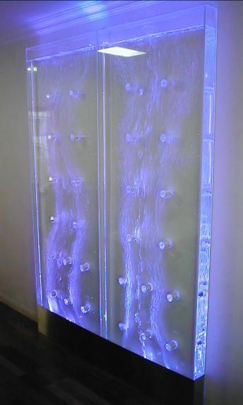 Designer Deko Für Wohnung Design Wasserfall Wand Wasserwand