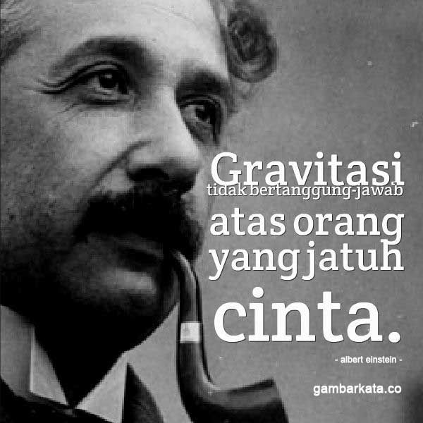 Gambar Kata Albert Entein Tentang Cinta Einstein Gambar Bijak