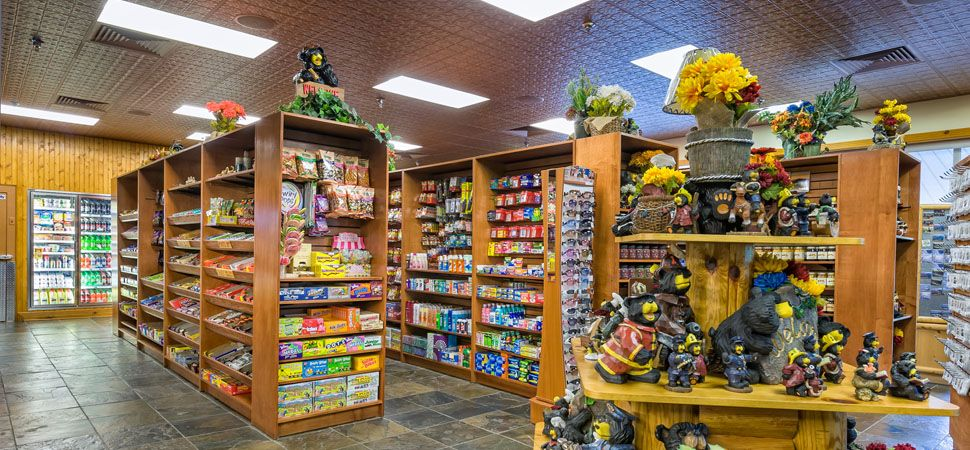 The Smoky Mountain Marketplace offers all the convenience of the local grocery store with the charm and southern hospitality of an old fashioned country store right here on property http://westgateresorts.com/smoky-mountain/