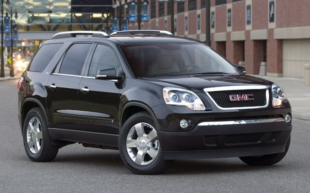 Gmc Acadia Safest Suv Gmc Vehicles Suv