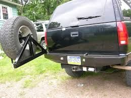 Image result for s10 blazer rear bumper tire carrier