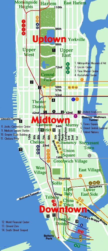 Map Of New York Hotels Manhattan.Manhattan New York Handy Map Map Of New York New York Travel Manhattan Map
