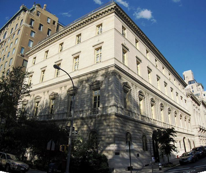 Otto Kahn Mansion Upper East Side Nyc Now Home To The Convent Of The Sacred Heart Mansions City Residences American Architecture