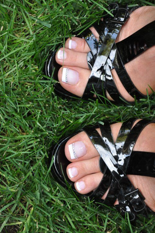 I love these shoes, but these toe nails - they have to b… | Wedding ...