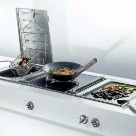 Gaggenau Want The 36 In Module W Built Deep Fryer And Grill