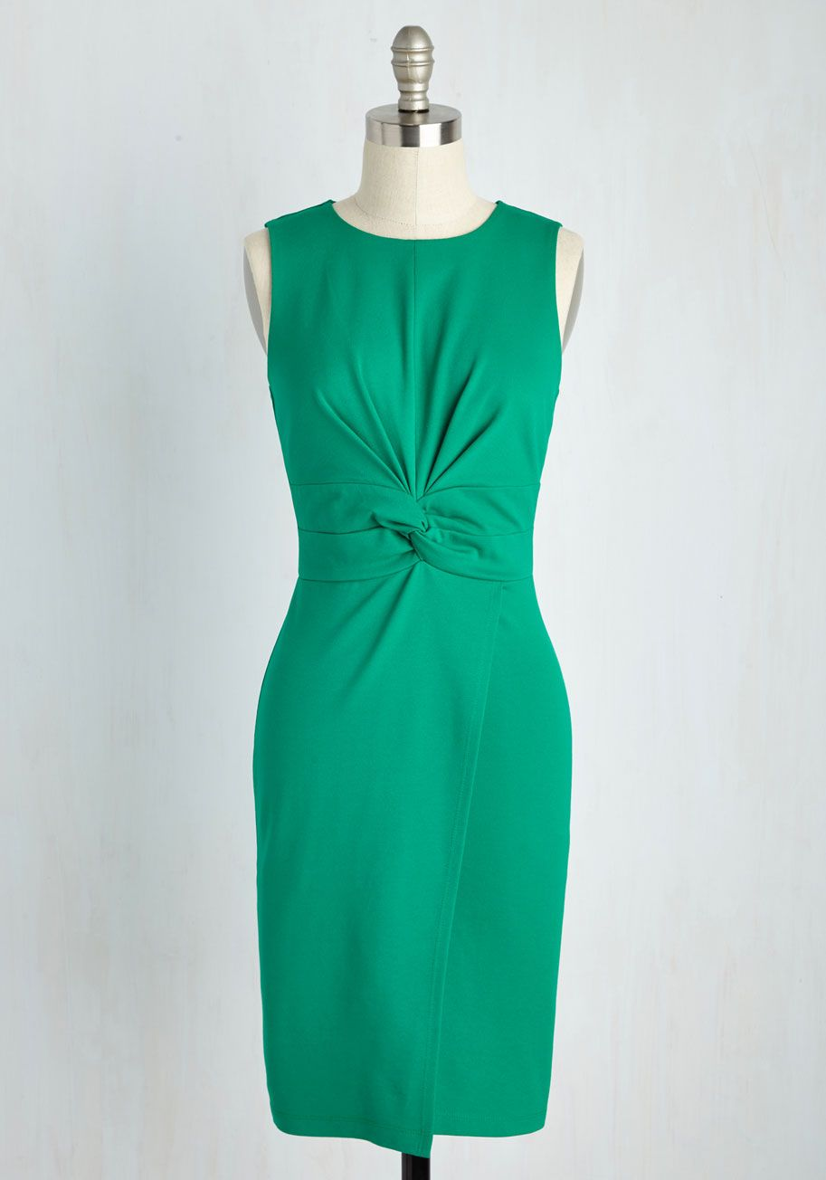 Meeting Maven Dress in Verdant | Party Dresses & Style | Pinterest ...