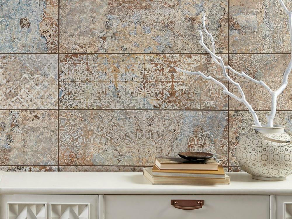 Vestige Natural Ceramic Wall Tile 10in X 30in 100402437