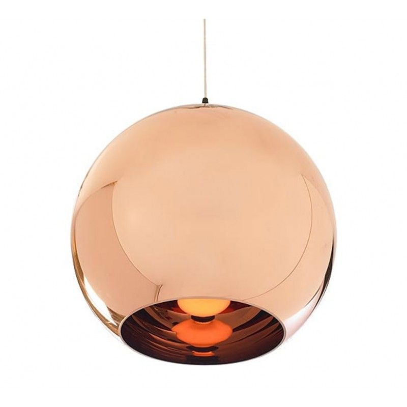 Replica Tom Dixon Shade Pendant Light 40cm Copper Ceiling Lights Copper Lighting Lamp Cord