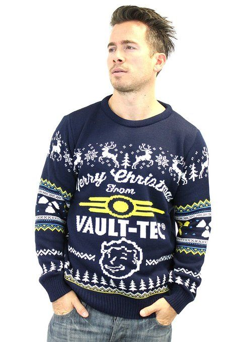 Official Fallout 4 Christmas Sweater | Ugly Christmas Sweaters ...