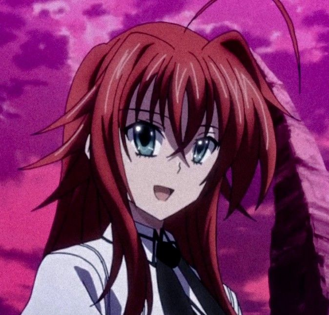 Rias Gremory Vampire Anime Shows Anime High School Anime