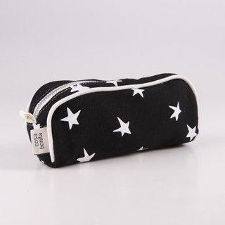 Cartuchera Angastaco, negro estrella blanca