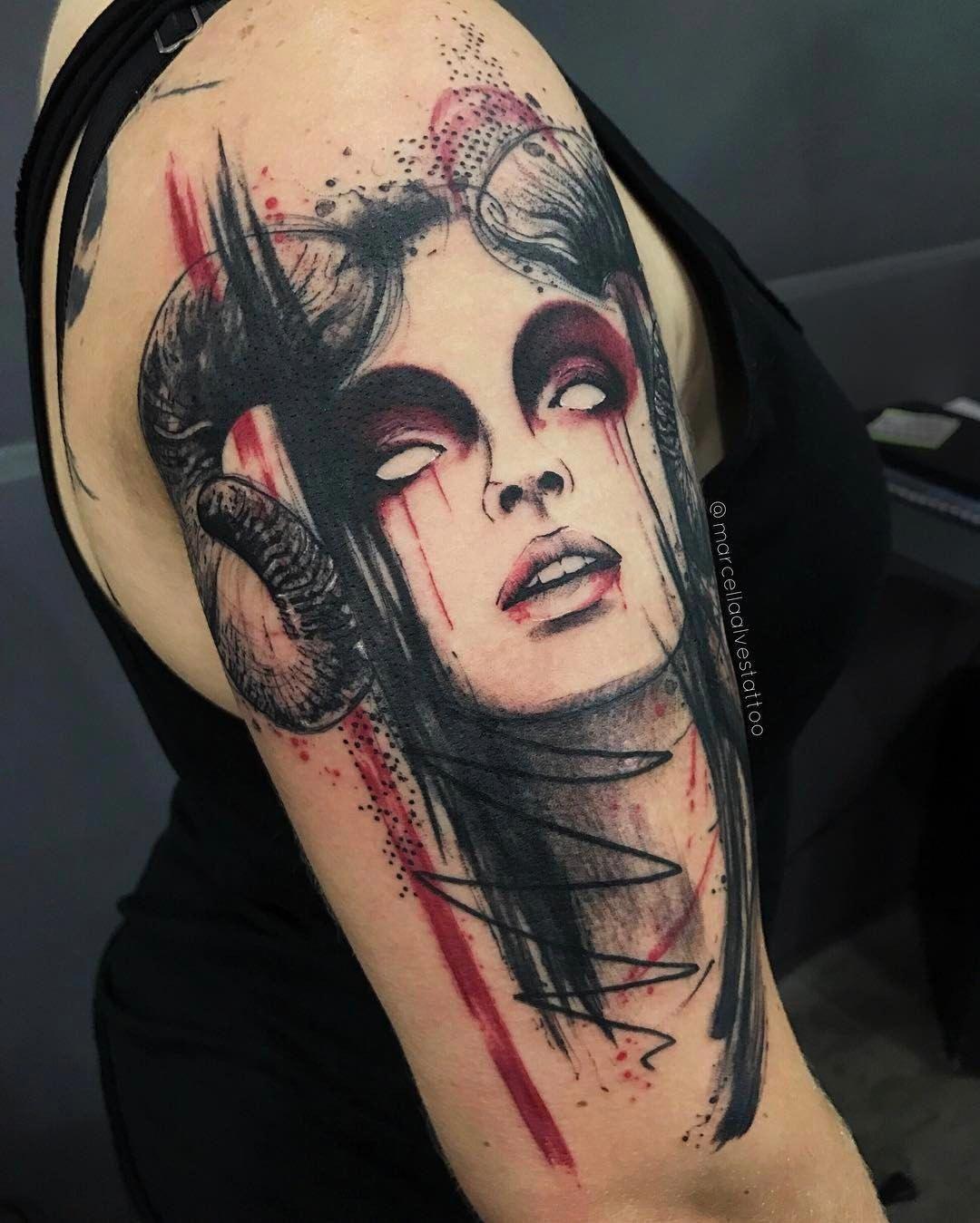 Sexy aries tattoo