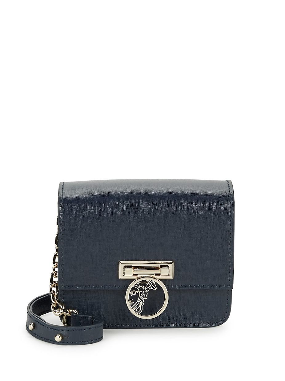 Versace Collection Leather Crossbody Bag 5bbaaf2221718