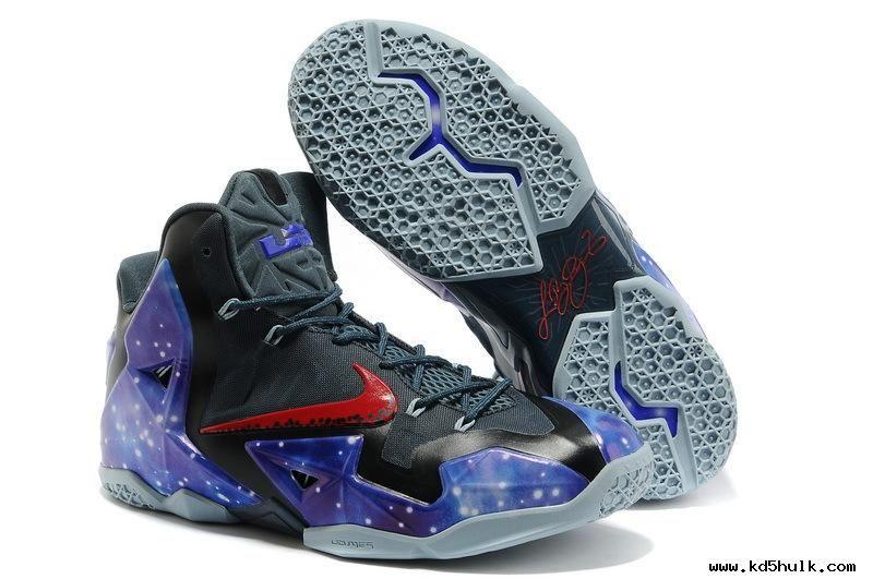 Nike Air Max LeBron James 11 P.S Elite South Beach Galaxy Glow