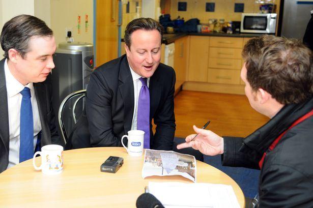 Prime Ministers view on Stockton Christmas tree - Gazette Live